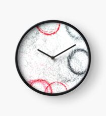 Charybdis: Abstract Pattern - Machine-Made Drawing Clock