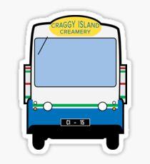 Milk Float - Craggy Island Creamery Sticker