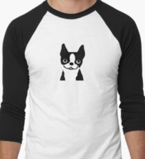 Boston Terrier Smiling Face T-Shirt