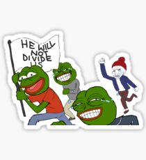 4Chan vs HWNDU Sticker