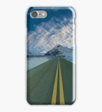 Journey Road Mountain Ice Highway Travel iPhone Case/Skin