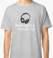 Rocking to a Different Tune - Autism Awareness Classic T-Shirt