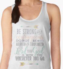 Joshua 1:9 Bible Verse Women's Tank Top