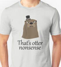 Camiseta unisex Tonterías de Otter