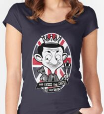 God save the king Bean Women's Fitted Scoop T-Shirt