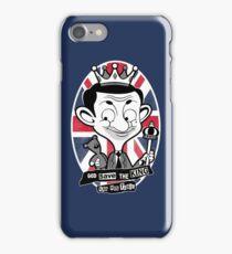 God save the king Bean iPhone Case/Skin