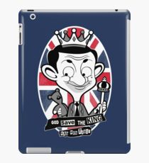 God save the king Bean iPad Case/Skin