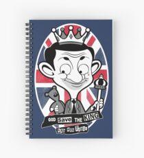 God save the king Bean Spiral Notebook