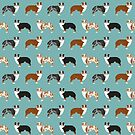 Australian Shepherd owners dog breed cute herding dogs aussie dogs animal pet portrait hearts by PetFriendly by PetFriendly