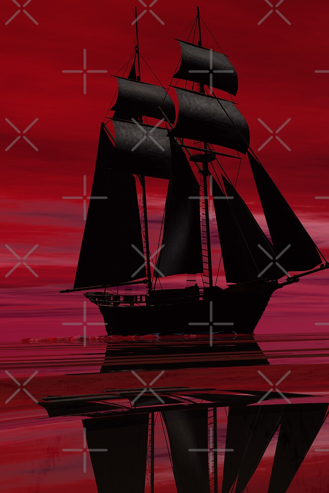 Red Ship by crystalwizard