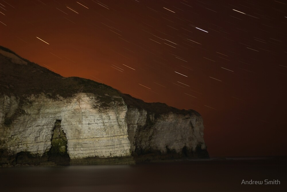 North Landing at Night by Andrew Connor Smith