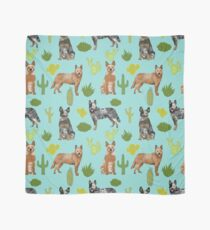 Australian Cattle Dog cactus pet friendly dog breed dog pattern art by PetFriendly Scarf