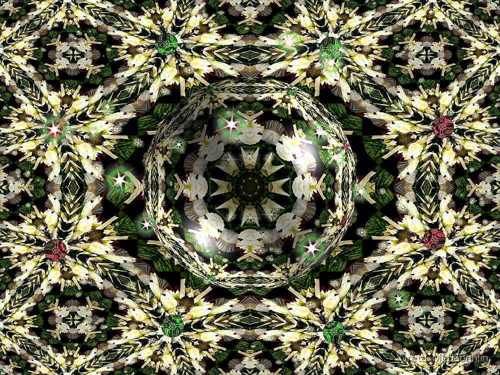 Pointsetta Snowflake by Greta  McLaughlin