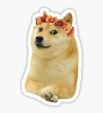 Tumblr Doge Sticker