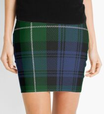 Lamont Clan/Family Tartan  Mini Skirt