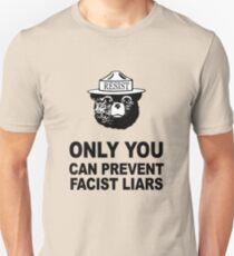 Smokey Resist Anti Trump Anti Facist Tee Shirt T-Shirt
