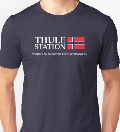 Das Ding - Thule Station Antarktis T-Shirt