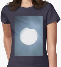 Partial Eclipse Women's Fitted T-Shirt