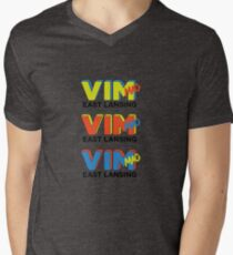 retro 3 Men's V-Neck T-Shirt