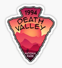 DEATH VALLEY NATIONAL PARK CALIFORNIA NEVADA CACTUS HIKE HIKING CAMP CAMPING Sticker