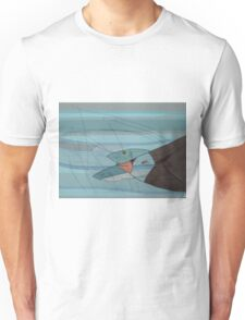 Penguin and Fishes Unisex T-Shirt