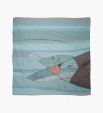 Penguin and Fishes Scarf