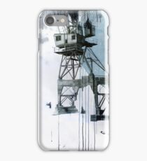 B-Shed Crane iPhone Case/Skin