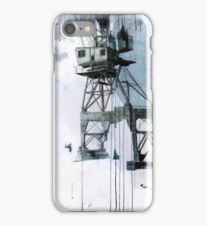 B-Shed Crane iPhone Case/Skin