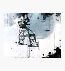 B-Shed Crane Photographic Print