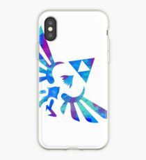 Vinilo o funda para iPhone Skyward Sword Paint Blue
