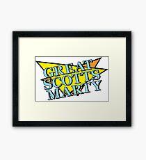 Great Scott's Marty! Framed Print