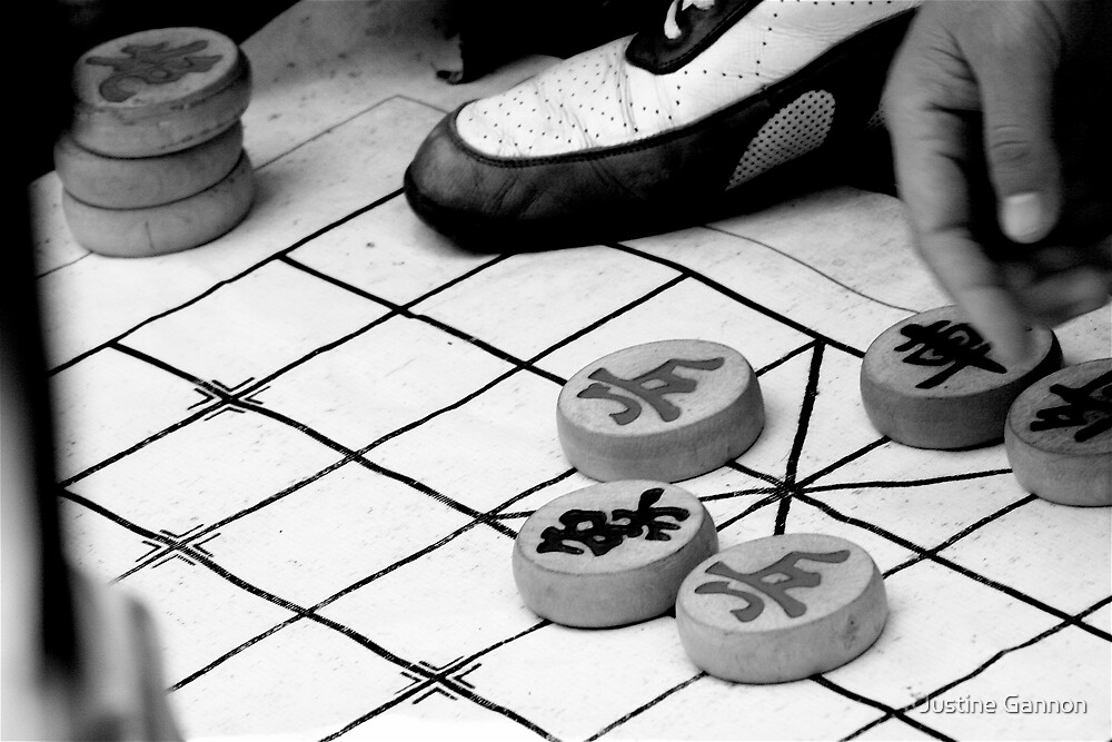 Checkers by Justine Gannon