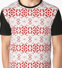 Beautiful background of seamless floral pattern Graphic T-Shirt
