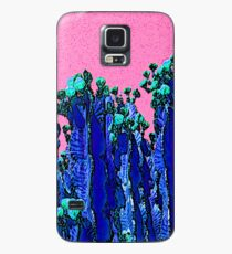 Cartoon Summer Cacti In The Pink  Case/Skin for Samsung Galaxy