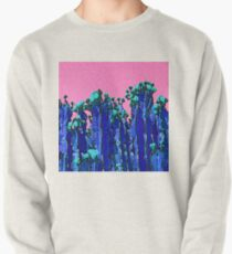 Cartoon Summer Cacti In The Pink  Pullover