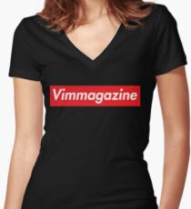 VIM x SUPREME Women's Fitted V-Neck T-Shirt