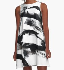 black and white - bw13 A-Line Dress