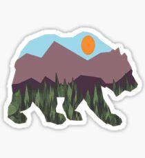 Wilderness Stroll Sticker