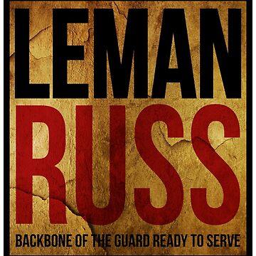 CODEX - LEMAN RUSS 1 VINTAGE by reuk45