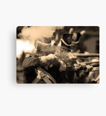 """""""Up in Smoke"""" Canvas Print"""