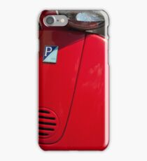Red Scooter iPhone Case/Skin