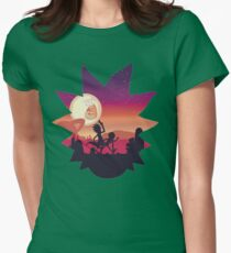 Rick Womens Fitted T-Shirt