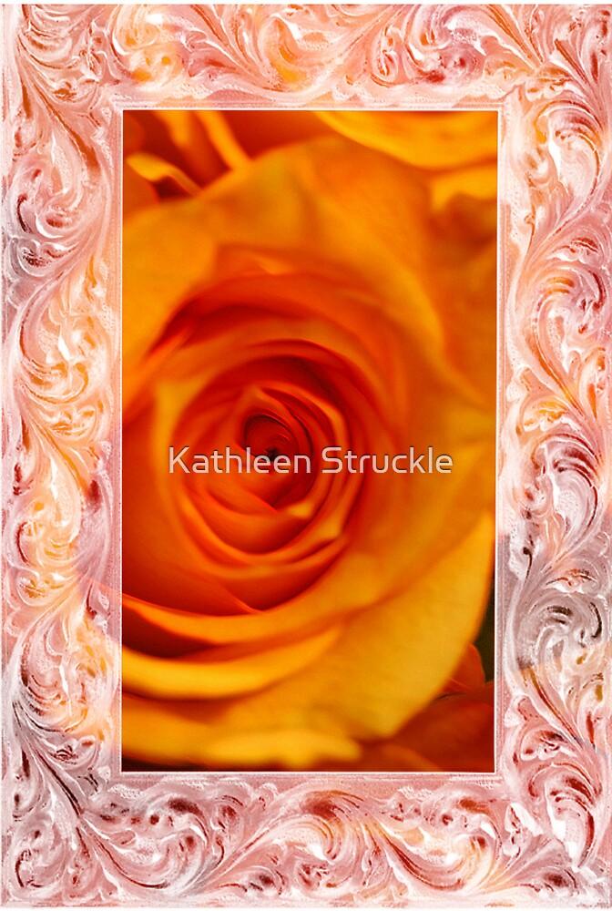 Orange Glow by Kathleen Struckle