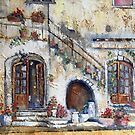 Maria's Home, painting by Sue Nichol