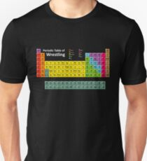 Periodic Table of Wrestling Unisex T-Shirt