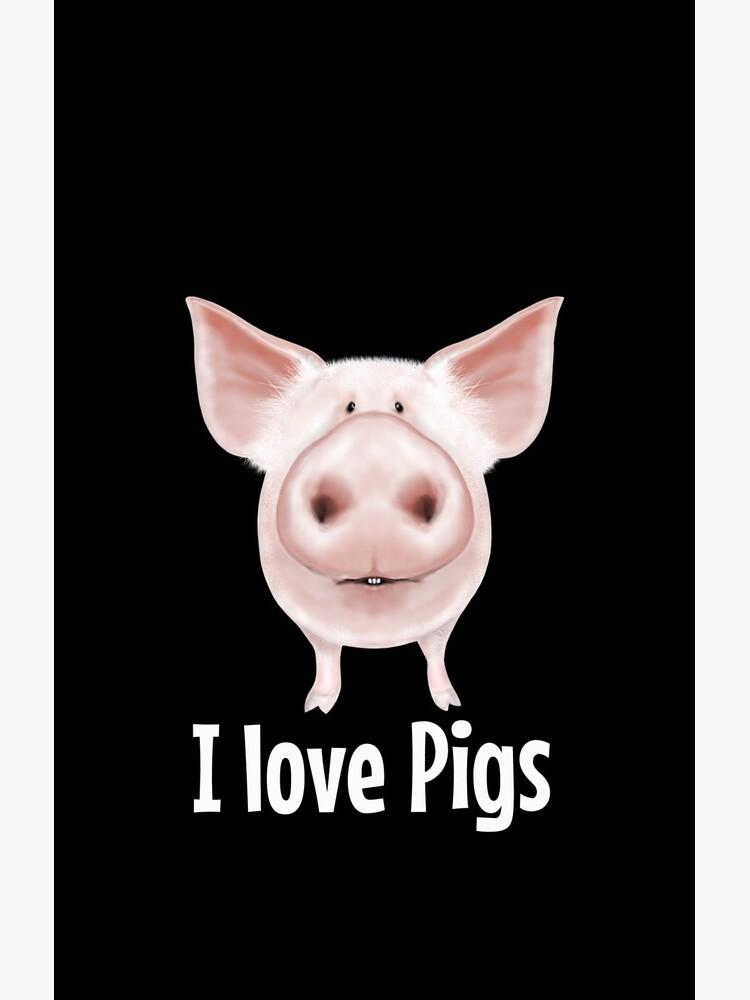 Ich liebe Schweine von wiboandbear