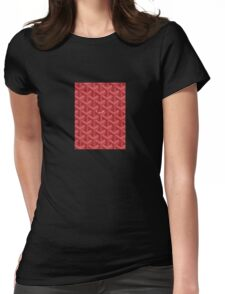 goyard phone case red Womens Fitted T-Shirt