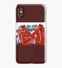 """Unique and rare 1980 Race Trucks France 18 (c) (t) """" fawn paint Picasso ! Olao-Olavia by Okaio Créations iPhone Case/Skin"""