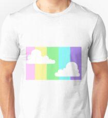 Pastel Rainbow Sky Unisex T-Shirt