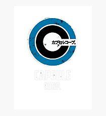 corp capsul logo Photographic Print